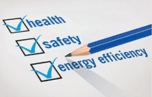 Health, Safety, Energy Efficiency Checklist